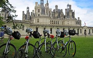 Biking in the Loire Valley France